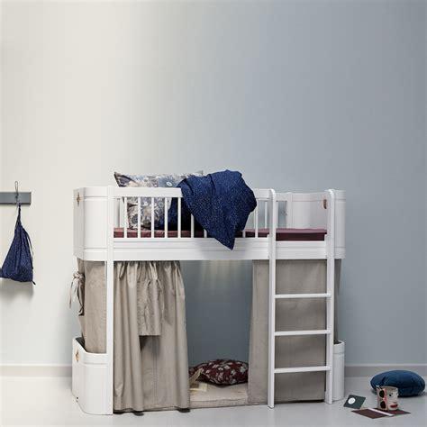 Junior Size Bunk Beds Junior Size Loft Bed In White Nubie