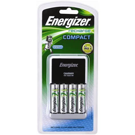 Dijamin Charger Energizer Recharge Compact Aa Aaa 9v energizer compact battery charger bunnings warehouse