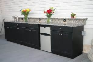 Outdoor Kitchen Cabinet by Smaller Outdoor Kitchens Soleic Outdoor Kitchens