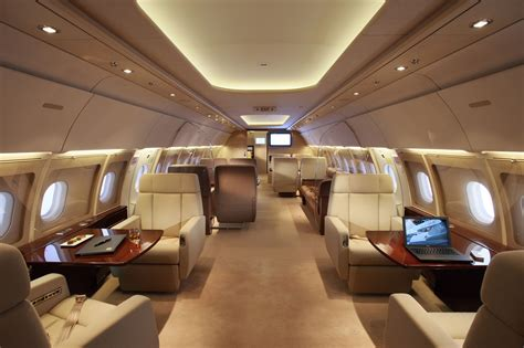 Jet Interiors by Air Charter Airbus Corporate Jet With Execflyer