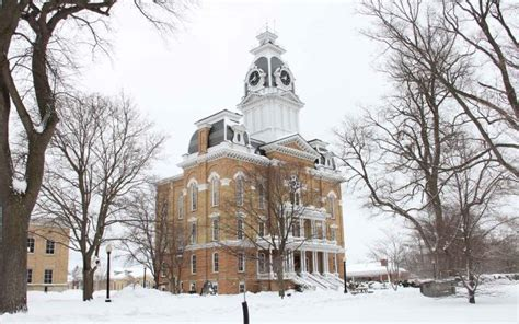 winter hillsdale college