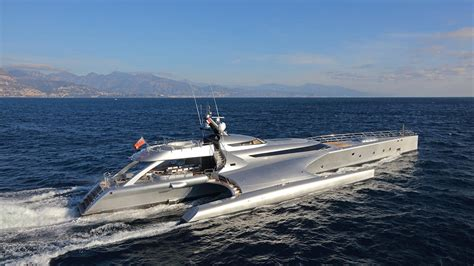 trimaran yacht galaxy trimaran motor yacht galaxy of happiness for sale boat
