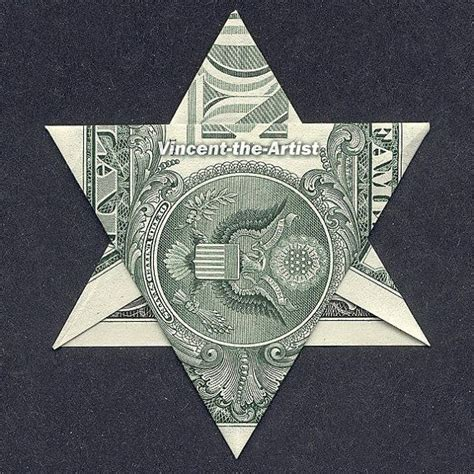 Of David Origami - dollar origami of david money dollar origami