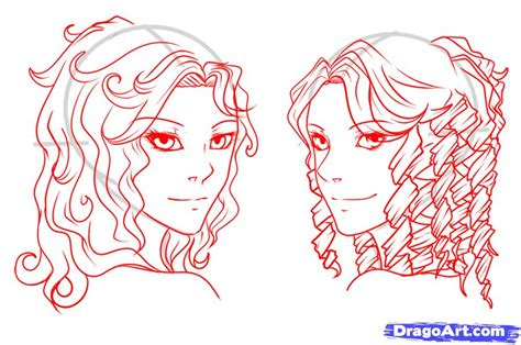 anime curly hair gallery anime boy curly hairstyles