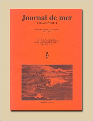 journal of an expedition to the mauvaises terres and the missouri in 1850 classic reprint books albert seyrollejournal de mer d albert seyrolle matelot 224