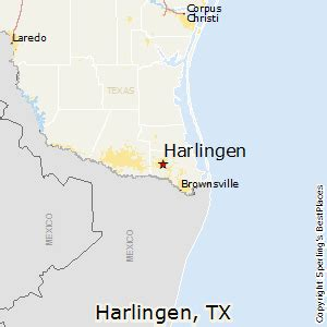 where is harlingen texas on the map best places to live in harlingen texas
