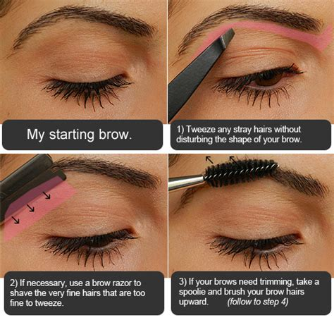 proper way to fill in eyebrows makeup tips tricks from shabby to chic defined eyebrows