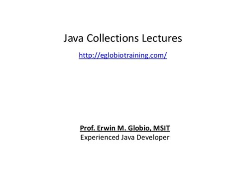 java tutorial on collections java collections tutorials