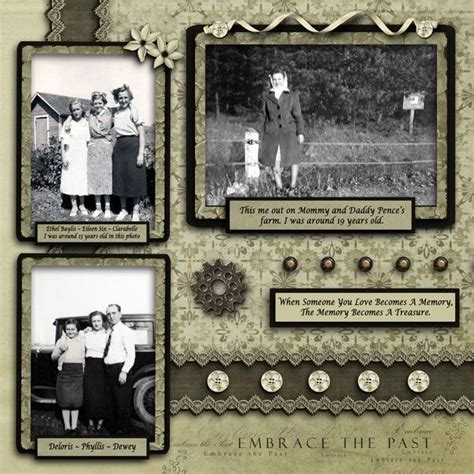 scrapbook layout three photos 3100 best images about scrapbook your family tree on