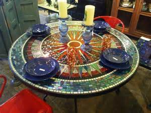 Mosaic Top Patio Table Mosaic Coffee Table Coffee Table Design Ideas