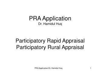 Pra Participatory Rural Appraisal ppt participatory rural appraisal powerpoint presentation id 225887