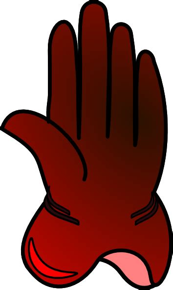 gloves clipart glove clip at clker vector clip
