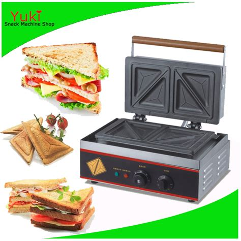 Fy 113 Electric Sandwich Machine fy 113a breakfast sandwich maker toaster sandwich cake machine commercial in waffle makers from