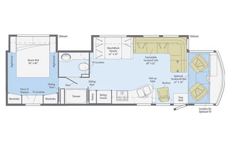 winnebago floor plans winnebago sightseer motorhomes sightseer class a