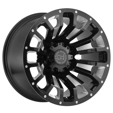 truck wheels pinatubo truck rims by black rhino