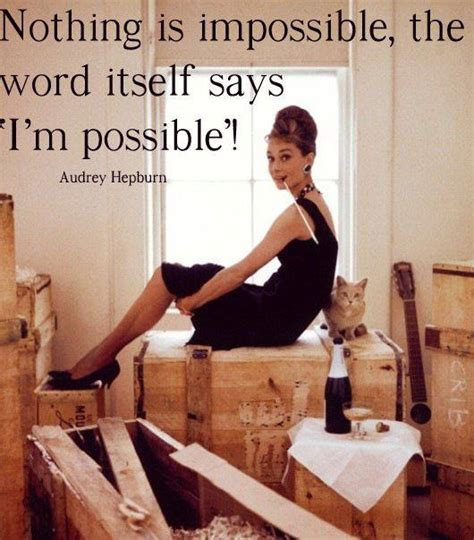 audrey hepburn   impossible