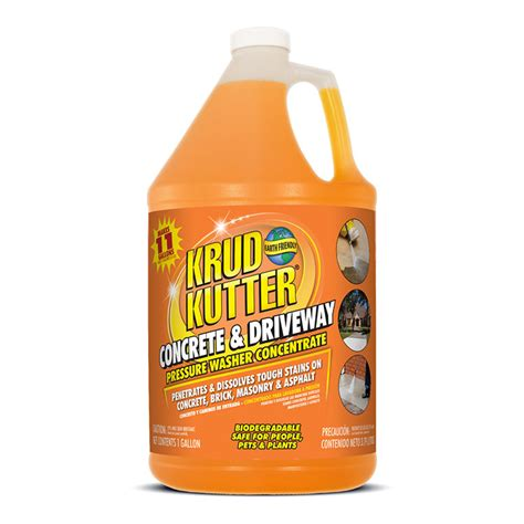 krud kutter pressure washer conc concrete driveway cleaner gal