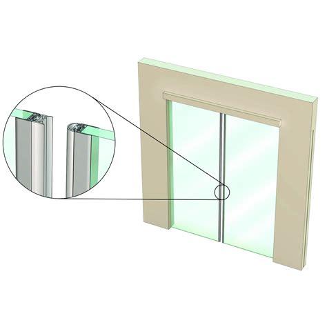 Frameless Glass Door Seals Is7300si For Non Leaf Frameless Glass Doors Kilargo