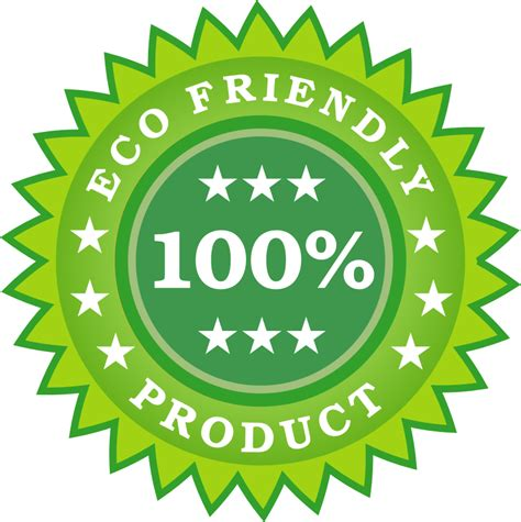 Eco Friendly by Clipart Eco Friendly Product Sticker