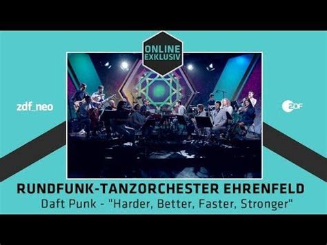 daft better faster stronger rundfunk tanzorchester ehrenfeld daft 171 harder