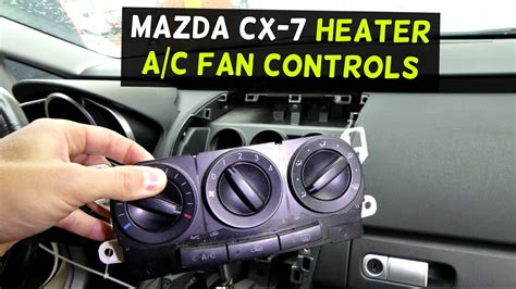 how to replace heater ac control controls on chevrolet equinox chevy equinox youtube mazda cx 7 hvac heater controls a c controls replacement removal cx7 youtube