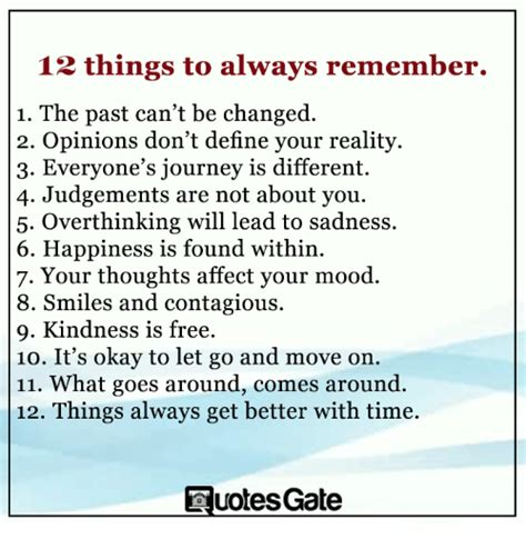 Quotes Gate 12 Things To Remember In