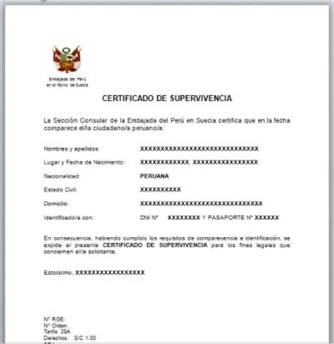 certificado de supervivencia consuladoperucom pasaportes en peru related keywords pasaportes en peru