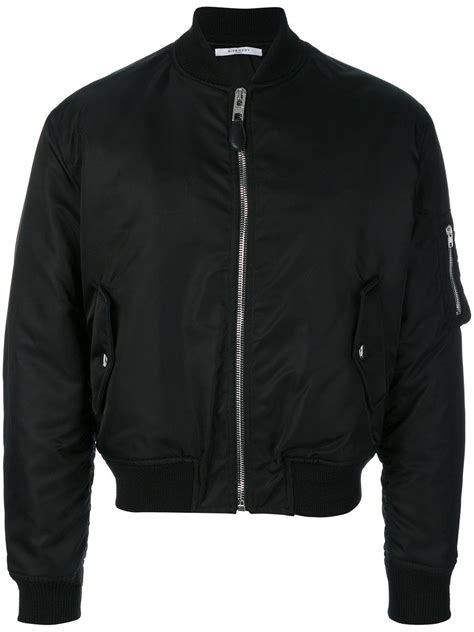 illuminati jacket givenchy illuminati patch bomber jacket in black for