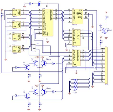 eeprom circuit diagram eeprom programmer schematic eeprom get free image about