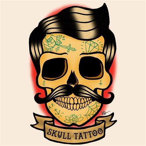 imagenes hipster de calaveras camiseta tatuaje calavera hipster lola camisetas