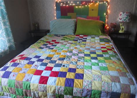 9 Square Quilt by 9 Square Quilt Sewing Projects Burdastyle
