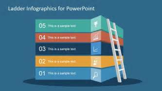 powerpoint slide templates free free ladder infographic slide for powerpoint slidemodel