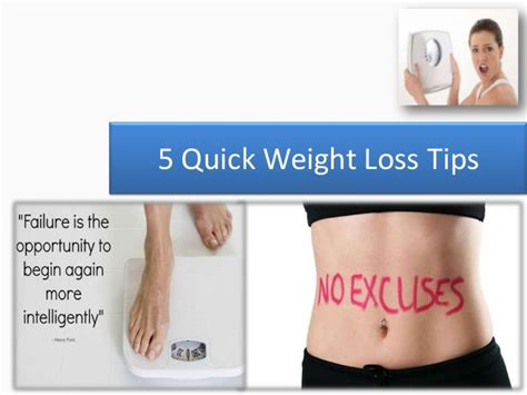 3 weight loss tips 5 weight loss tips