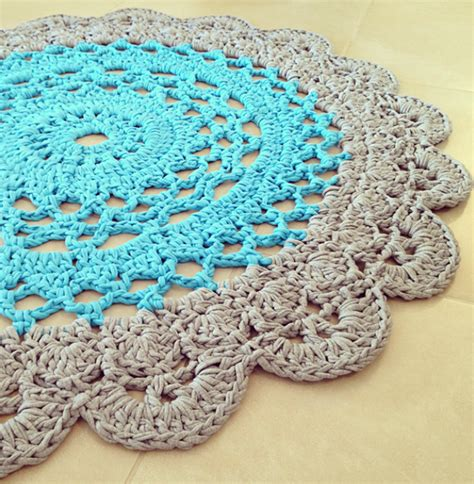 free rug patterns crochet doily rug pattern lvly