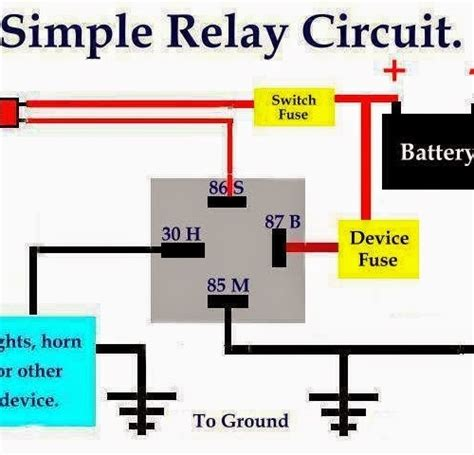 bosch horn relay wiring diagram wiring diagram