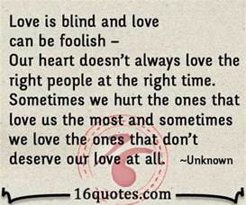 Quotes About Love Being Blind by Quotes About Being Blind Quotesgram
