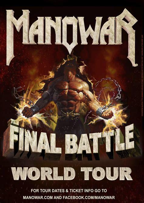 Manowar Heavy Metal manowar announce tour tickets on sale manowar