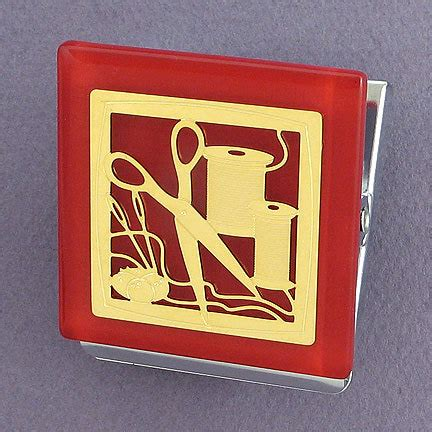 Needl E Magnet Crd needle thread sewing magnet kyle design