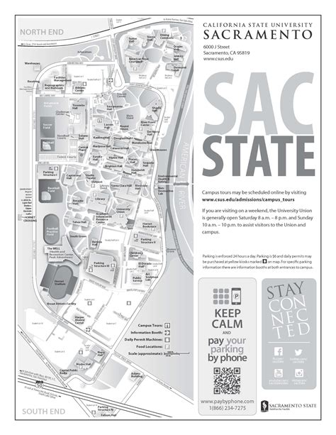csus map sac state cus map my