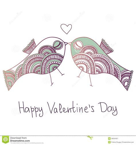 valentines day bird birds in royalty free stock photography image 36334357