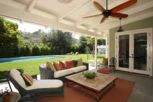 Porch roof designs porch farmhouse with ceiling fan covered patio