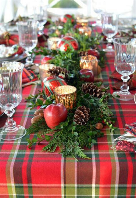 15 traditional christmas table setting ideas home design