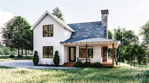 modern farmhouse cabin plan lilly