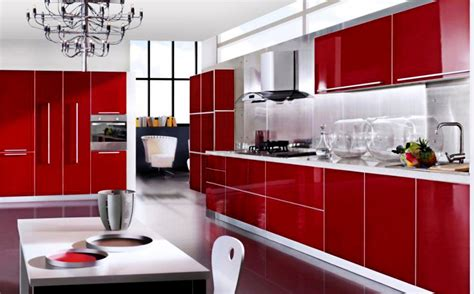 red cabinets kitchen best and cool red kitchen cabinets for dream home
