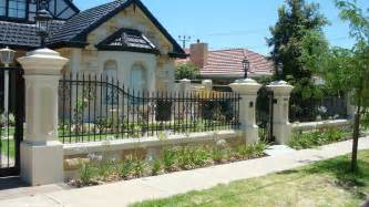 fences for homes beautiful home fence designs and gate ideas wilson