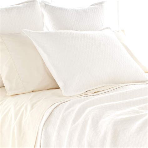 diamond matelasse coverlet diamond white matelasse coverlet by pine cone hill