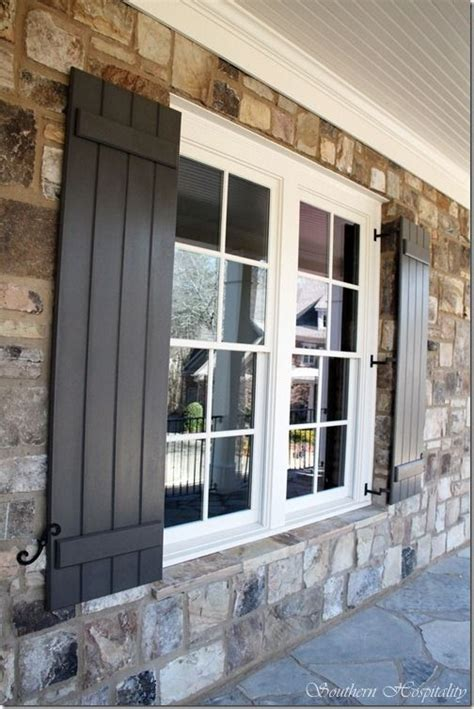 black shutter 25 best ideas about shutters on pinterest window