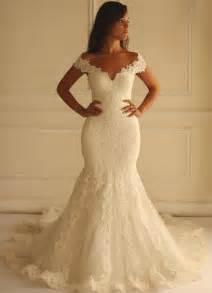 lace mermaid wedding dresses ivory lace mermaid wedding dresses 2016 the shoulder