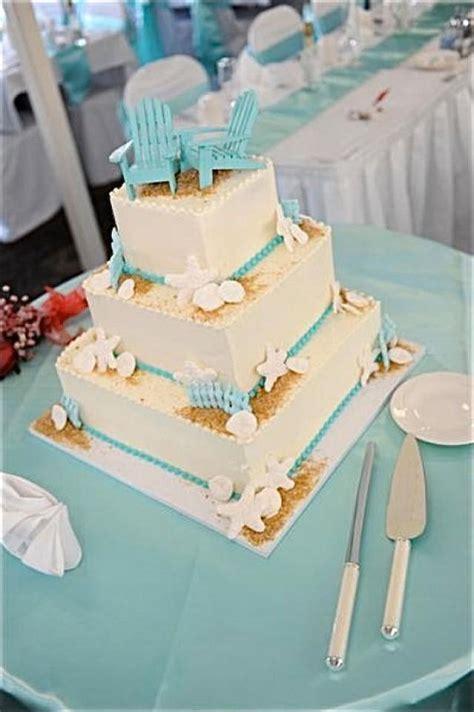 Beach Wedding Cake Topper   2 Mini Adirondack Chairs In 6
