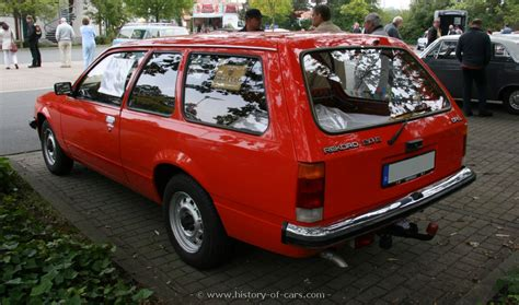 opel rekord station wagon opel 1977 rekord e1 20e 2door caravan the history of
